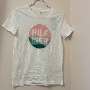 Tommy Hilfiger Women's White T-shirt. BNWT XS
